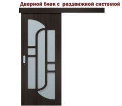 Interroom sliding doors