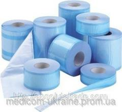 Roll for sterilization with a fold, 100х100 mm