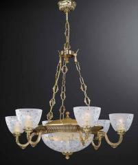 Chandelier classical Reccagni Angelo L 6352/6+3