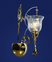 Sconce of Wunderlicht Gracia Cristallo WL13190-1KG