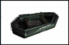 Inflatable boat of AquaStar B-249 green