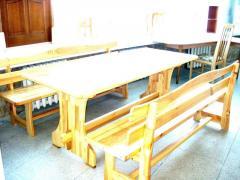 Furniture for a bath, saunas, dachas, arbors.