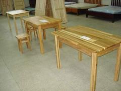 Столы кухонные из натурального дерева. Товар от