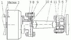 Муфта привода ТНВД Foton 1043-1