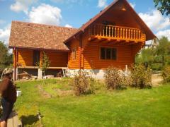 Изготовление деревянных домов работы под заказ
