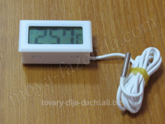 The digital thermometer in an incubator (M-13