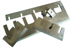 Knives rubilny for wood and polymers.