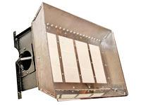 Газовые инфракрасные обогреватели светлого типа