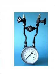Flowmeter level meter differential pressure gage