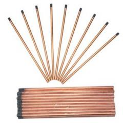 Electrodes welding carbon graphite brushes