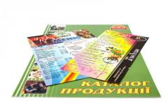 The menu, catalogs, brochures, books, in soft and