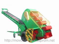 Зерновой ковшово-шнековый погрузчик Р6-КШП6