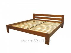 Bed from a natural tree of 160х200 cm