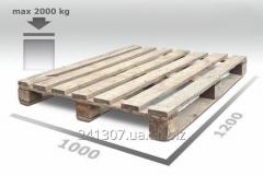 Pallets a wood 1200x1000 1 grade without brand