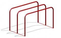 Bars parallel for the Workout platforms