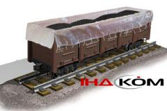 The insert for the railway gondola car - is