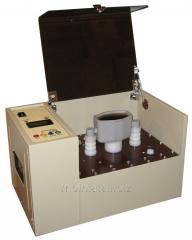 UIM-90 Installation of testing of transformer oil