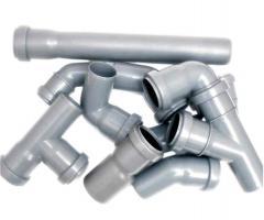 Трубы канализационные (полиэтиленовые) и фасонные