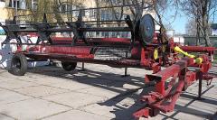 Жатки валковые на трактора,энергосредства