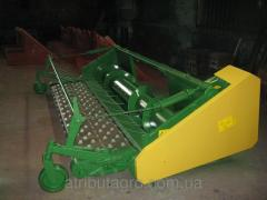 Pick grain PDE-3.4 m John Deere, Case.