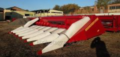 Harvester for corn LCD 80 on combines the Vector,