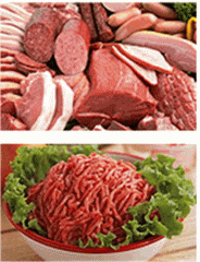 Fibrillyarny protein for the meat-processing