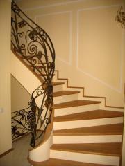 Лестницы кованные