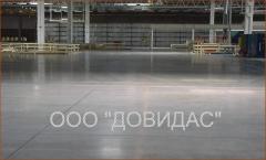 Concrete floors. Concrete floors in Kiev.