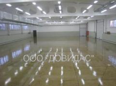 Floors are industrial. We offer industrial bulk