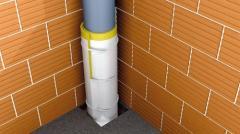 Pipe noise isolation Teksaund