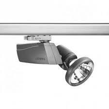 Track lamp, searchlight of Lug Robin mini Grey