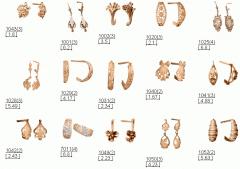 Серьги, сережки, ювелирные изделия: восковые