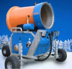 Hire of systems of snowmaking, hire of snow