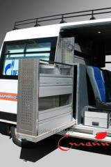 Vans for transportation of emergency crews