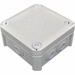 Коробка распределительная, наружная, пластиковая