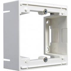 Адаптер наружной установки белый,1-кратный