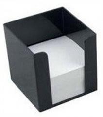Куб для бумаги чорный  90х90х90 мм