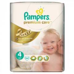 Подгузники PAMPERS Premium Care Maxi (7-14 кг)