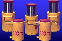 Домкрат гидравлический Д100 ГП-160 для подъема и