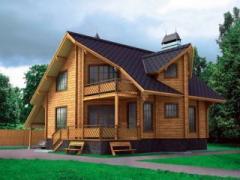 Дома каркасные деревянные - брус, сруб под заказ