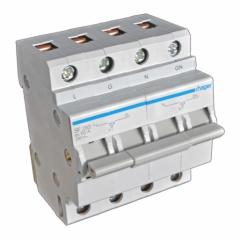 The modular switch of the feeding inputs 2P 63A