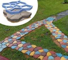 Форма для виготовлення садових доріжок