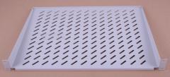 Shelf console the 200-350th, 1U, color gray