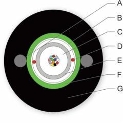 Cable fiber-optical A-D(ZM)(SG)2Y, 12E9/125