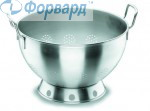 Colander from stainless steel