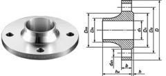 Flanges steel (vorotnikovy) GOST 12821-80