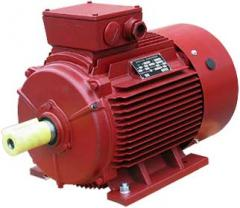 Electric motors asynchronous three-phase with the