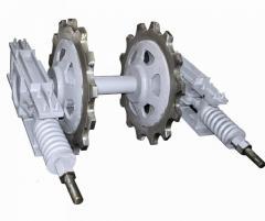 Натяжное устройство для цепных конвейеров и