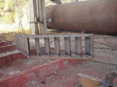 Изготовление труб, лестниц, эстакад, колонн,