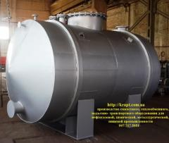 Capacity is 10 CBM from stainless steel from the